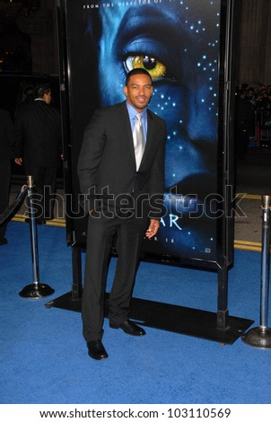 Laz Alonso at the Los Angeles Premiere of 'Avatar,' Chinese Theater, Hollywood, CA. 12-16-09