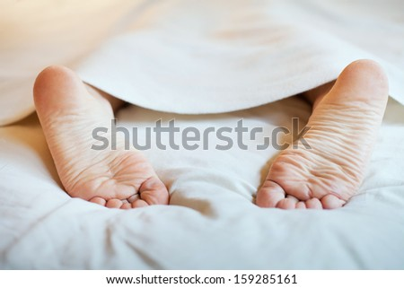laziness and sleep - stock photo