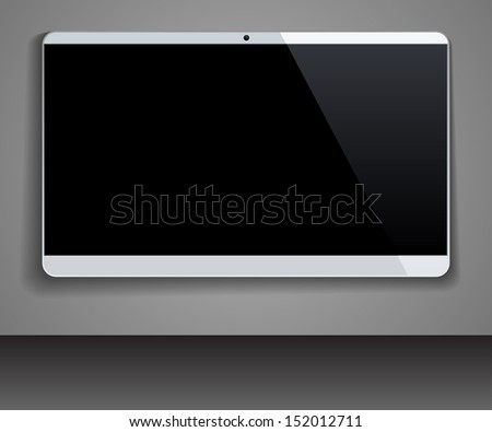 LCD monitor - stock photo