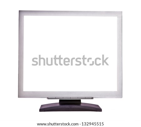 LCD monitor background
