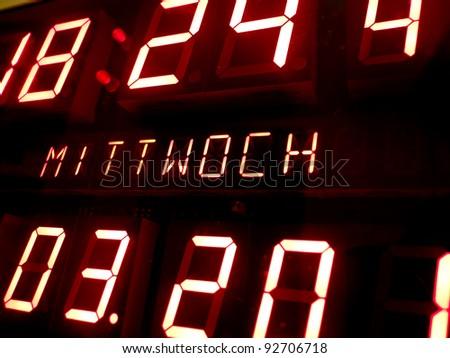 LCD panel - stock photo