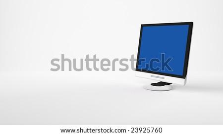 LCD Screen - stock photo