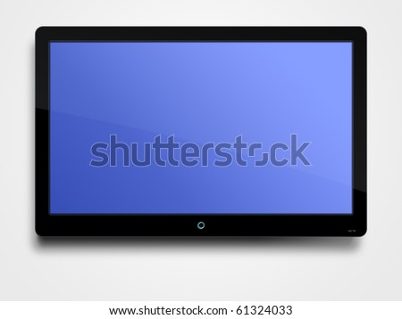 LCD screen - stock photo