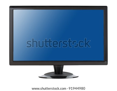 LCD Television - stock photo