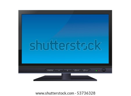 LCD wide TV