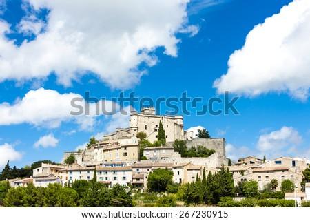Le Barroux, Provence, France - stock photo