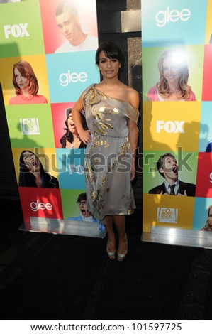 Lea Michele at the  'Glee' Academy Event, Henry Fonda Theater, Hollywood, CA. 07-27-10