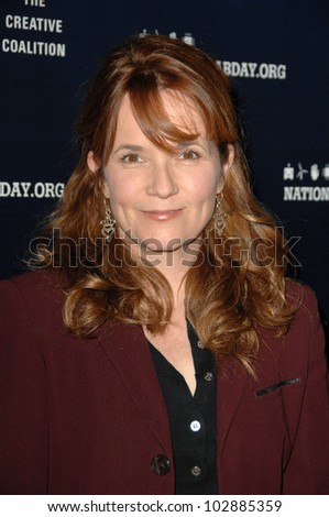 Lea Thompson at the National Lab Day Kick-Off Dinner, Luxe Hotel, Los Angeles, CA. 04-01-10