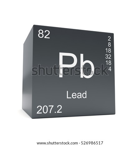 Lead chemical element symbol periodic table stock illustration lead chemical element symbol from the periodic table displayed on black cube 3d render urtaz Image collections