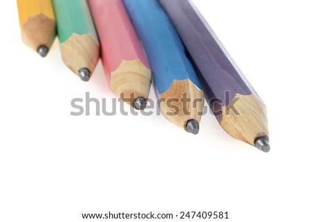 lead pencil - stock photo