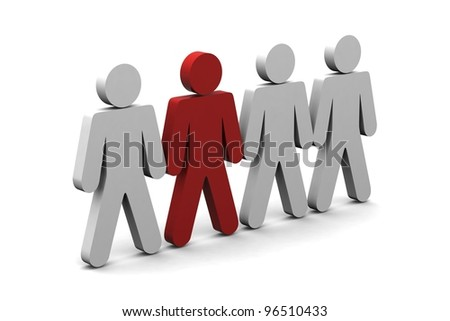 Leader,Success concept - stock photo