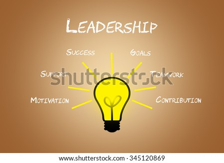 Leadership business concept