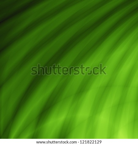 Leaf green abstract pattern design - stock photo