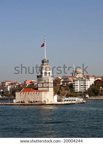 Leanders Tower. Salacak - Istanbul - stock photo