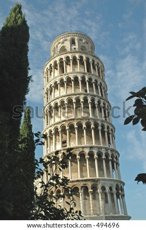 Leaning Tower of Pisa, Pisa, Italy.
