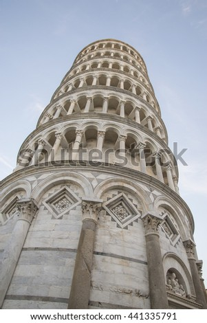 leaning Tower. Pisa, Italy - stock photo