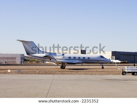 Learjet 2 - stock photo