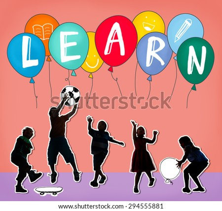 Learn Education Knowledge Student Studying Concept - stock photo