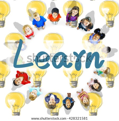 Learn Education Study Progress Knowledge Concept - stock photo