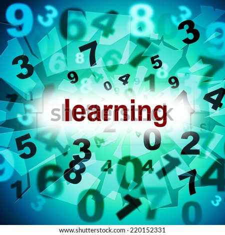 Learn Learning Representing Train Educated And Studying - stock photo