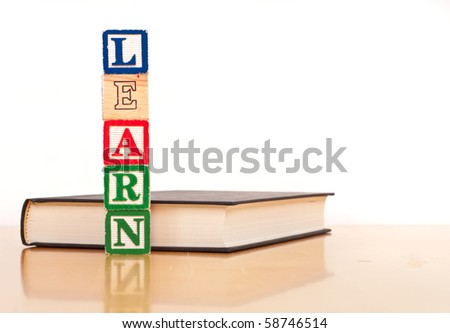 Learn to Read Concept - stock photo