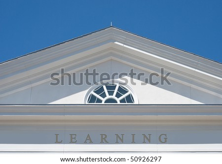 Learning as Path for a Successful Life - stock photo