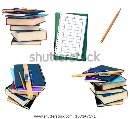 Learning of classroom, back to school - stock photo