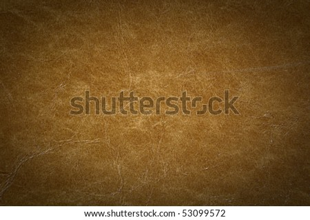 Leather Background Cracked with Dark Corners