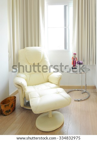 leather chair - stock photo