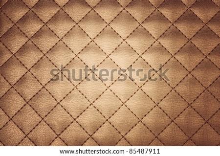 leather close-up background - stock photo