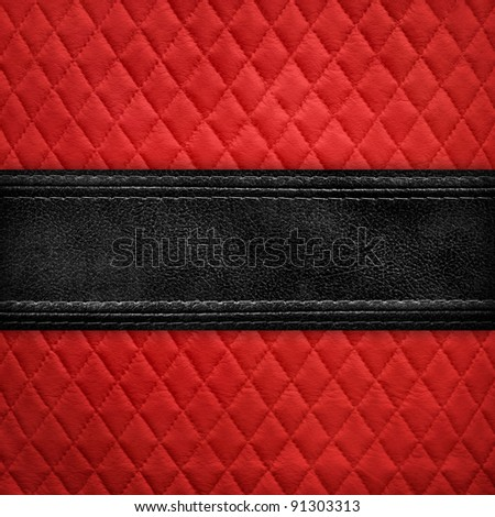 leather design background - stock photo
