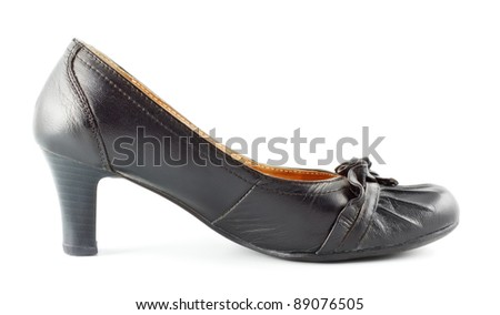 Leather Female Shoes