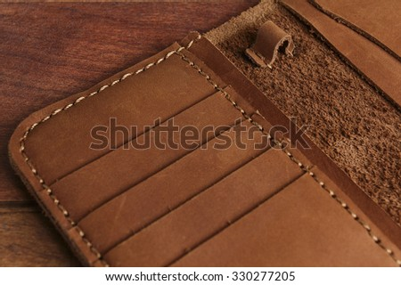 leather holder, case