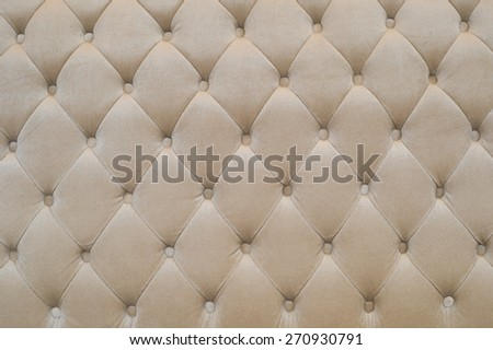Leather sofa background. - stock photo