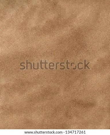 Leather suede background texture. - stock photo