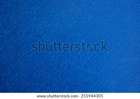 Leather texture natural background - blue suede - stock photo