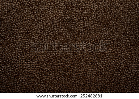 leather texture of black sofa for background