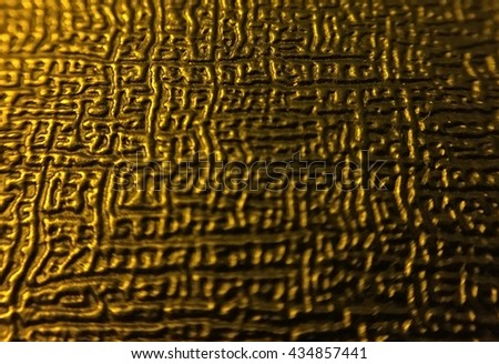 leather texture reflect on light - stock photo