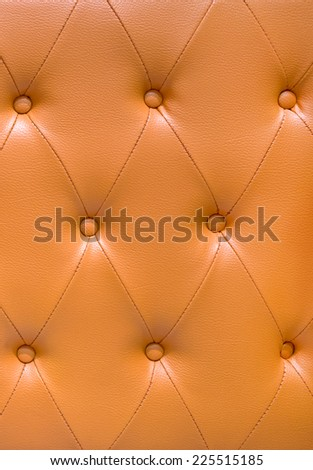 leather upholstery texture for background - stock photo