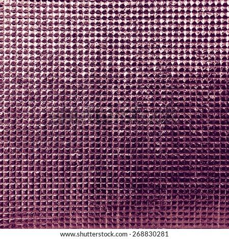 Leather vintage sofa detail - macro shoot - stock photo