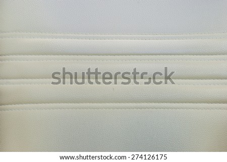 Leather white Do not clean texture background - stock photo