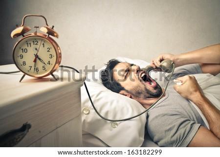 Leave me Alone! - stock photo