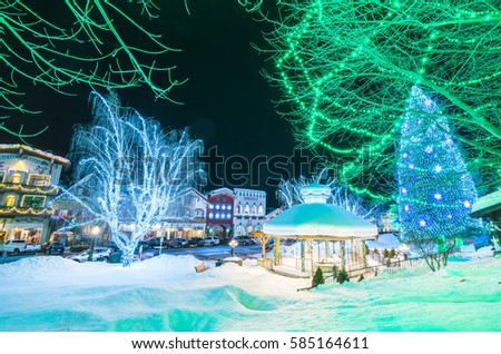 02/14/16 beautiful leavenworth with & Leavenworthwashingtonusa021416 Beautiful Leavenworth Lighting ... azcodes.com