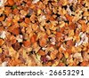 Leaves on the water background - stock photo