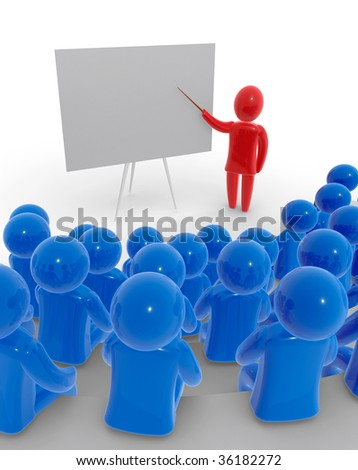 Lecture - stock photo