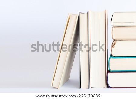 Lecture - Books  - stock photo