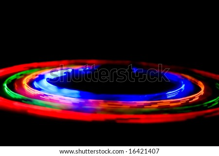 LED abstraction - stock photo