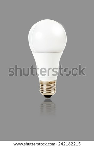 LED bulb with E27 socket, aluminium body