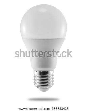 LED energy saving bulb  - stock photo
