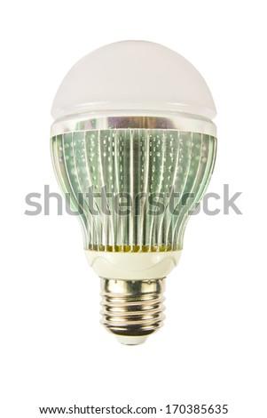 LED energy saving bulb, Light-emitting diode - stock photo